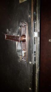 фото - контроль установленного замка